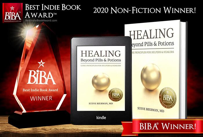 Healing Beyond Pills Wins 2020 BIBA Award